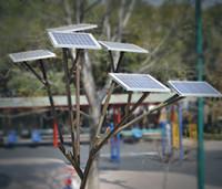 Este árbol solar pretende proporcionar energía limpia en algunos parques de México