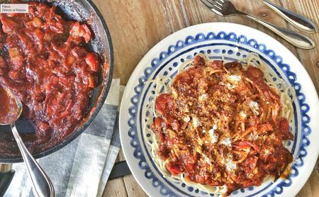 Cómo preparar la mejor pasta a la Amatriciana: el plato icónico de la cocina del Lacio