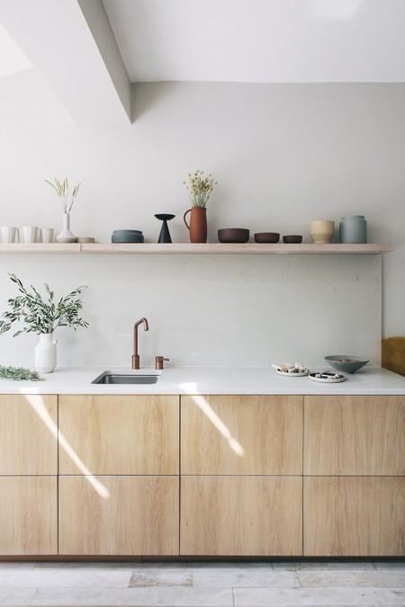 Tendencia en la cocina; 17 cocinas de madera para inspirarte