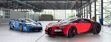 El abuelo del Bugatti Chiron se llama Bugatti EB110: esta es su historia y así se comparan sus cifras