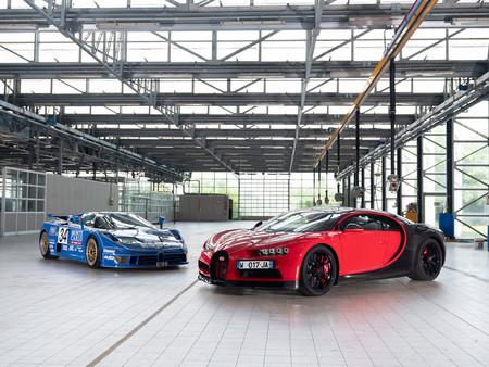 El abuelo del Bugatti Chiron se llamó Bugatti EB110: esta es su historia y así se comparan sus cifras