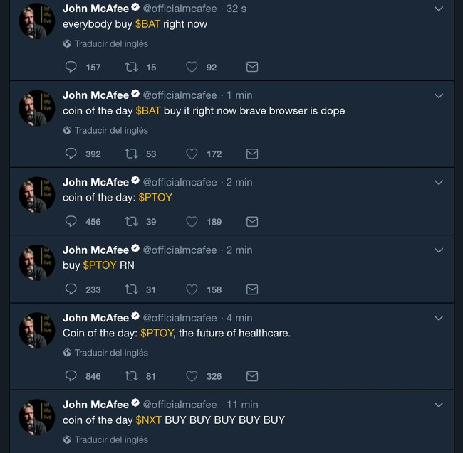 Window Y John Mcafee Officialmcafee Twitter