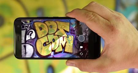 La cámara del HTC U11 Life, 16 megapíxeles traseros. Y 16 frontales.