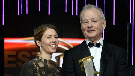 Sofia Coppola y Bill Murray