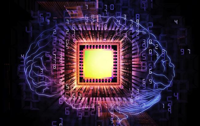 Computer Chip Brain