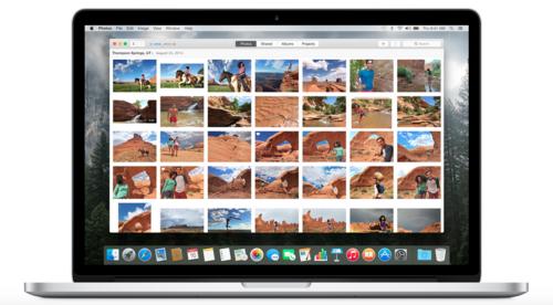 Cómo configurar Fotos para Mac en Yosemite y su Fototeca de iCloud