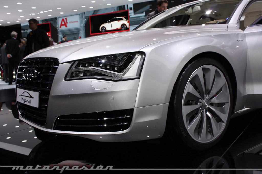 Foto de Audi A1 y A8 híbridos en el Salón de Ginebra (4/18)