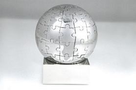 Puzzle en una bola