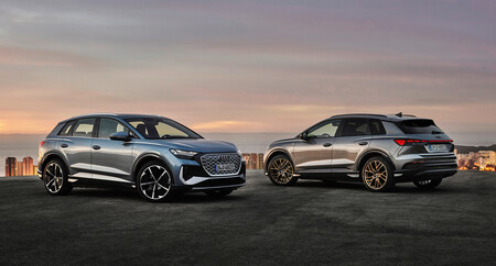 El Audi Q4 e-tron ya está aquí, y es un SUV eléctrico premium 6.300 euros más caro que el Volkswagen ID.4