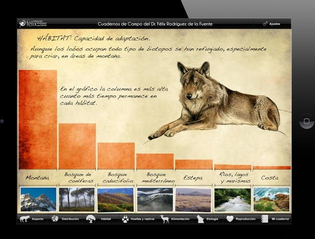 Cuaderno de campo del lobo