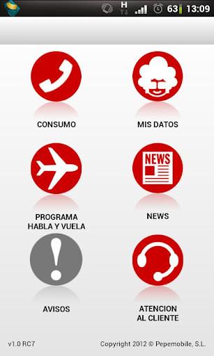 Pepephone lanza su aplicación oficial para Android
