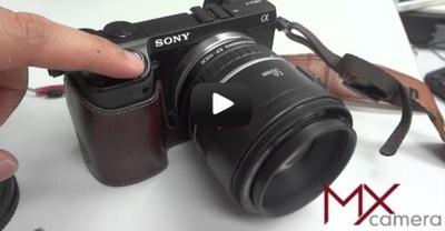 Pronto podremos usar objetivos Canon EF en las cámaras NEX con la posibilidad de realizar autofocus