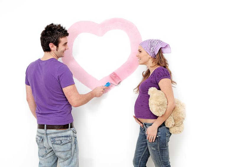 Consejos para pintar la habitaci n del beb - Pasos para pintar una pared ...