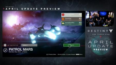 Destiny Actualizacion De Abril 10
