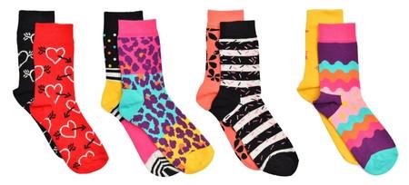 En Sarenza, conjunto de calcetines Happy Sock para niños por sólo 9 euros