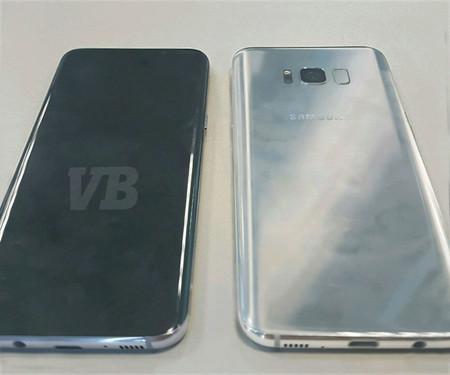Esta es la primera foto real del Galaxy S8, el nuevo smartphone de Samsung se deja ver en todo su esplendor