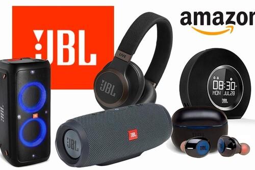 Ofertas en sonido inalámbrico JBL para adelantarse al Black Friday en Amazon