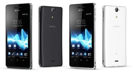 Sony Xperia V - con tecnología NFC