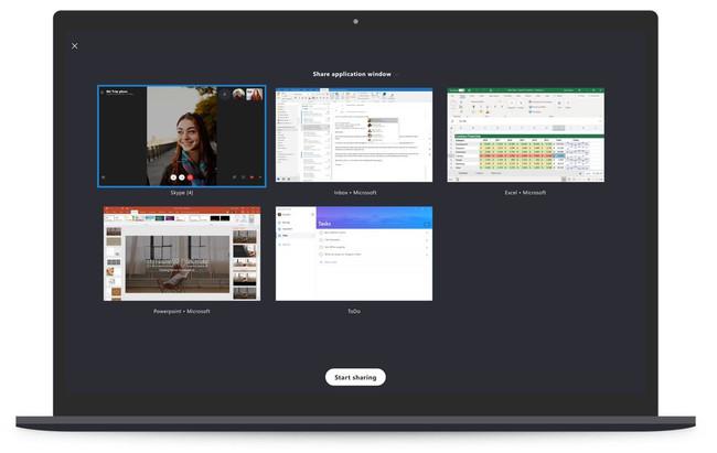 Microsoft mejora la privacidad en Skype: ahora podremos delimitar el área de la pantalla que queremos compartir