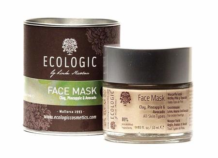Mascarilla Facial De Arcilla Pina Y Aguacate De Ecologic By Linda Nicolau
