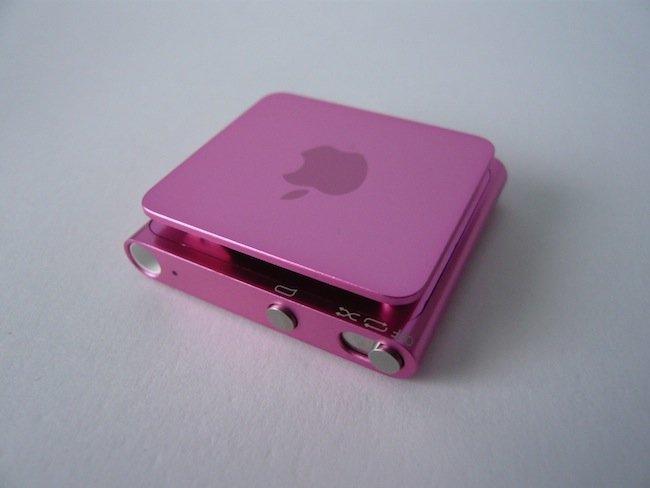 iPod shuffle trasero