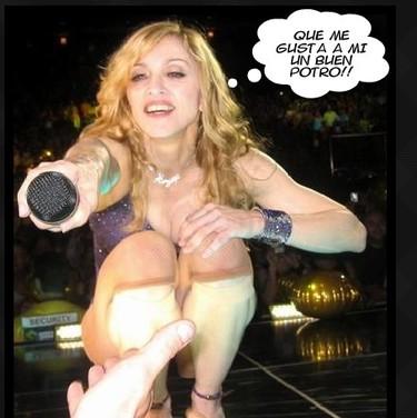 Madonna se compra una hípica de recreo para ella solita