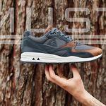 Del gris carbón y el marrón del bosque: la LCS R800 de Le Coq Sportif