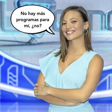 Elisa Mouliaá, de TVE, se proclama como la hater máxima de 'La Isla de las Tentaciones' y compañeros de profesión le recriminan su comentario