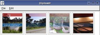 jUploader, para subir fotos a flickr