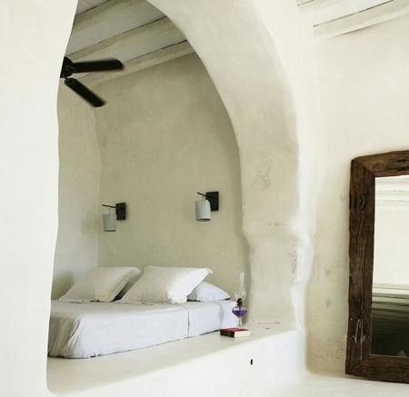 Una paradisíaca casa tradicional griega en la isla de Tinos