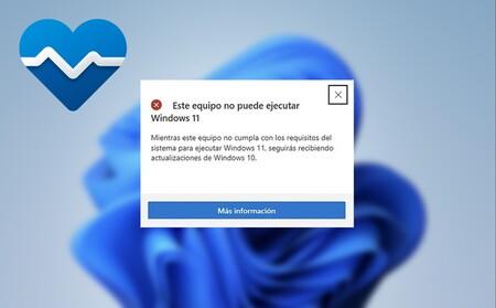Este es el mensaje que Microsoft obligará a aceptar para poder instalar Windows 11 en PCs incompatibles