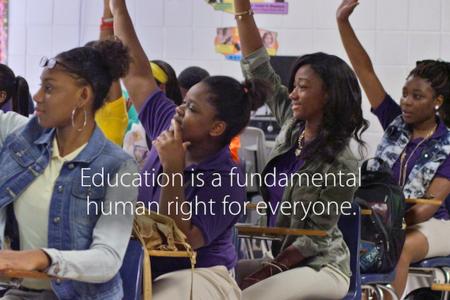 Apple se enfoca en la educación y dona dispositivos a escuelas en los Estados Unidos