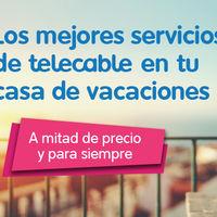 Telecable estrena combinado de internet y televisión para segundas residencias desde 24,50 euros