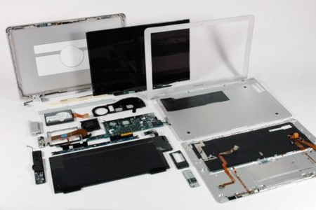 Las tripas del MacBook Air