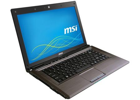 MSI CR41, portabilidad clásica en color bronce