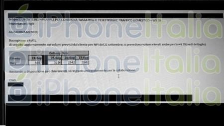 Los nuevos iPhone pueden llegar a Italia el 21 de septiembre según una nueva filtración desde DHL