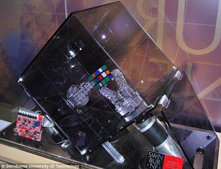 Nuevo récord para un robot: resuelto el cubo de Rubik en 10,69 segundos