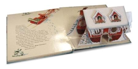 """""""Un regalo para Papá Noel"""", libro desplegable en 3-D"""