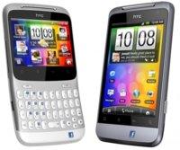 HTC ChaCha y HTC Salsa, con un botón dedicado a Facebook
