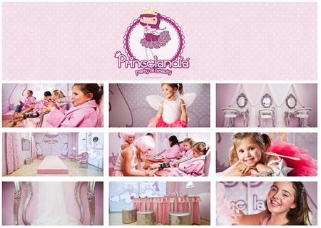 Princelandia: manicura, pedicura, spa y relax para niñas