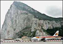 Comenzaron los vuelos a Gibraltar