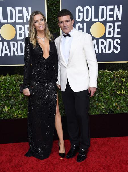Globos De Rojo 2020 Antonio Banderas Y Nicole Kimpel