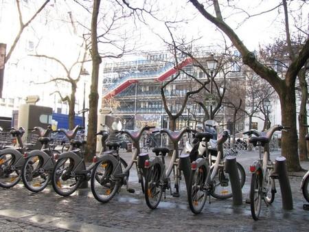 Servicio bicicleta compartida en París