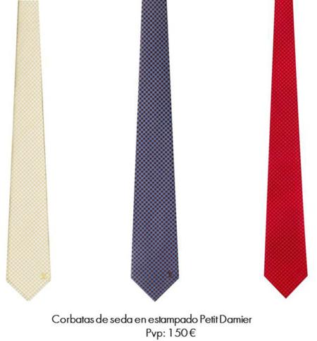 corbata louis vuitton