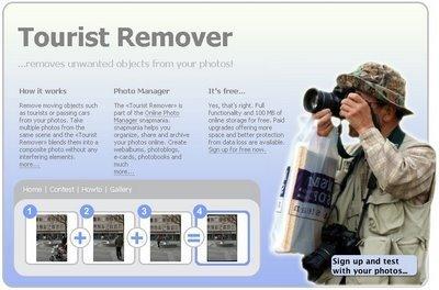 Tourist Remover: borra a los turistas de tus fotos