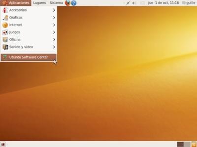 """Disponible Ubuntu 9.10 Karmic Koala """"Beta"""": galería de imágenes"""