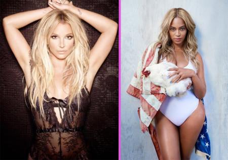 Britney Spears y Beyoncé, ¡a punto de tirarse del moño entre bambalinas de los VMA!
