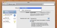 Ubicaciones de Mac OS X