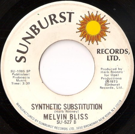 Melvin Bliss Synthetic Substitution