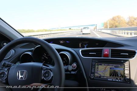 Honda Civic Tourer, toma de contacto